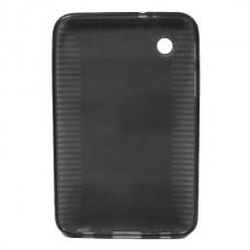Силиконовый чехол для Samsung Galaxy Tab 2 7.0 P3100 / P6200 (черный)