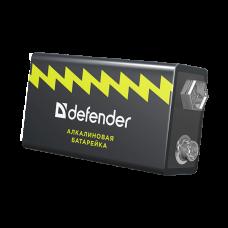 Батарейка алкалиновая Defender 6LR61-1B Крона