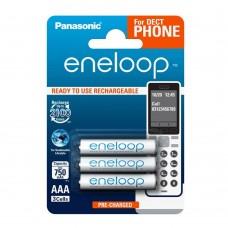Аккумулятор Panasonic Eneloop BK-4MCCE/3DE 750 mAh AAA, 3шт