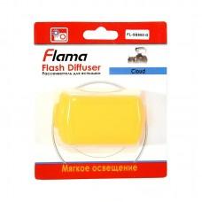 Рассеиватель Flama FL-SB800-O для вспышки Nissin Di466, Nikon SB-800 оранжевый