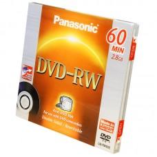 Диск Panasonic mini DVD-RW 2,8Gb (60 min) LM-RW60E