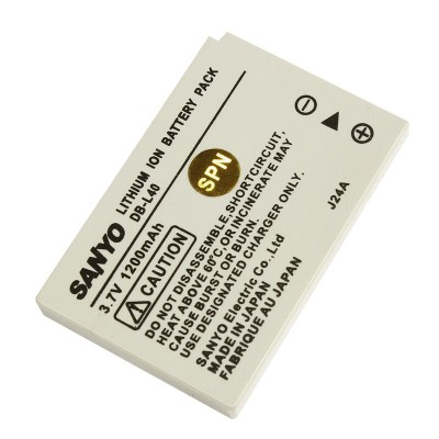 Аккумулятор SANYO DB-L40 / DB-L40A