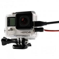 Бокс защитный для камеры GoPro HERO4 с отверстиями под шнуры