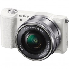 Цифровой фотоаппарат Sony ILCE-5100K 16-50 Kit White