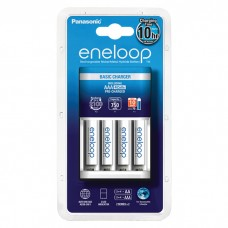 Зарядное устройство Panasonic Eneloop Basic Charger + 4 шт AAA 750mAh (K-KJ51MCC04E)(BQ-CC51E)
