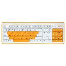 Клавиатура CBR Simple S8 White
