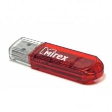 Флеш накопитель 4GB Mirex Elf, USB 2.0, Красный (13600-FMURDE04)