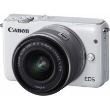 Фотоаппарат со сменной оптикой Canon EOS M10 Kit 15-45mm IS STM (белый)