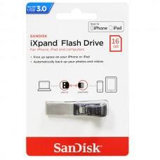 Флеш накопитель Sandisk 16Gb iXpand USB3.0 Lightning (SDIX30C-016G-GN6NN)