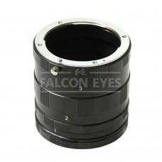Набор удлинительных колец Falcon Eyes на Sony MA для макросъемки