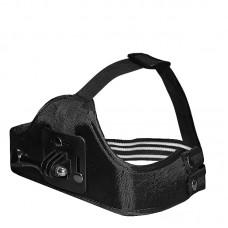 Крепление на голову Zebra для камер GoPro (черное)