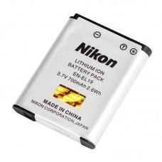 Аккумулятор для фотоаппарата Nikon EN-EL19 для Coolpix W100, S32, S100, S2500, S2600, S2700, S2750, S2800, S3100, S3200, S3300, S3400, S3500, S3600, S4100, S4150, S4200, S4300, S4400, S5200, S5300, S6400, S6500, S6600, S6700, S6800, S6900