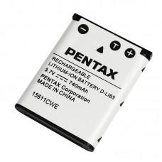 Аккумулятор PENTAX D-LI63