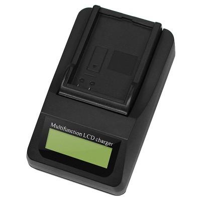 Сетевое зарядное устройство LCD-9001 (LC-E6E) для аккумуляторов CANON LP-E6
