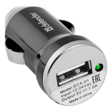 Автомобильный адаптер Defender ECA-01 (1 порт USB)