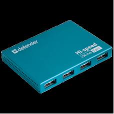 Универсальный USB разветвитель Defender Septima Slim USB2.0, 7 портов
