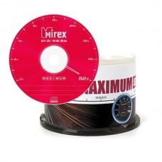 Диск Mirex CD-R 700MB 52x Maximum Cake Box 50шт