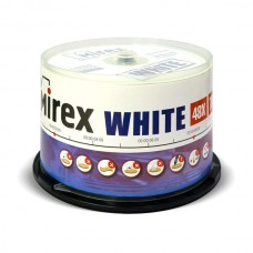 Диск Mirex CD-R 700MB 48x Thermal Print, Cake Box 50шт