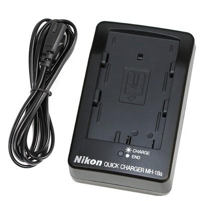 Зарядное устройство Nikon MH-18a / EN-EL3E для Nikon D300, D300s, D700, D90, D70, D70s, D50, D80, D1