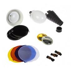 Комплект насадок Falcon Eyes FGA-K9 для накамерных вспышек SB-800, SB-600