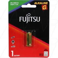 Батарея щелочная Fujitsu LR1G(B), серии G, типа N, 1 шт, (в блистере)