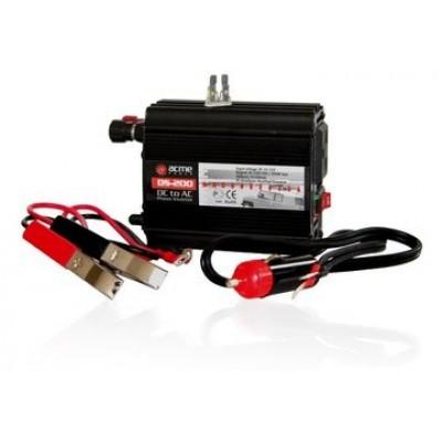 Автомобильный инвертор (преобразователь) напряжения 12В -> 220В, модифицированная синусоида AcmePower DS200
