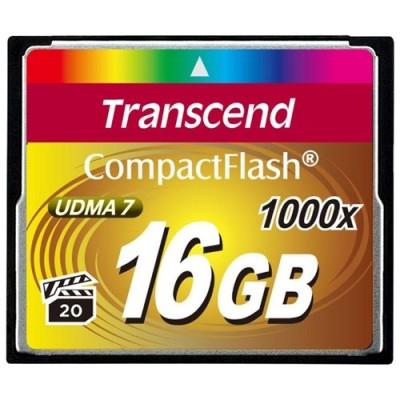 Флеш карта CF 16GB Transcend Ultra Speed 1000X (TS16GCF1000)