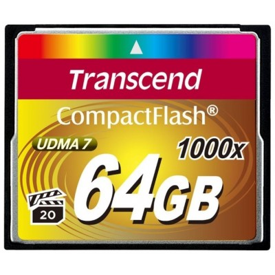 Флеш карта CF 64GB Transcend Ultra Speed 1000X (TS64GCF1000)