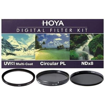 Набор фильтров HOYA Digital Filter Kit: 40.5mm UV(C) HMC MULTI, PL-CIR, NDX8