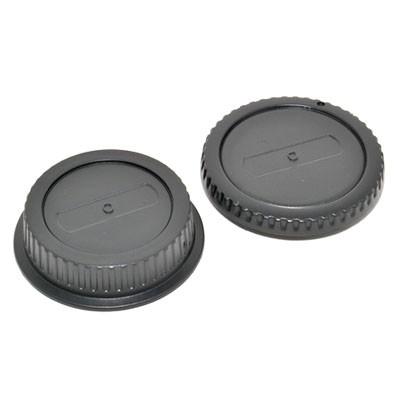 Комплект JJC L-R1 для Canon: крышка для корпуса фотоаппарата + задняя крышка для объектива