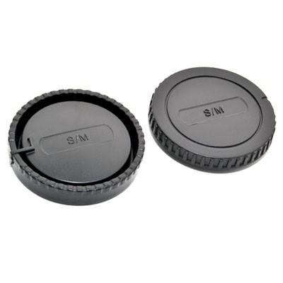 Комплект JJC L-R6 для SONY, Minolta крышка для корпуса фотоаппарата + задняя крышка объектива