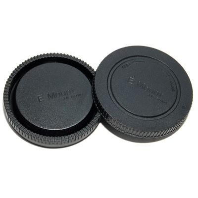 Комплект JJC L-R9 для SONY NEX: (для байонета с креплением E) крышка для корпуса фотоаппарата + задняя крышка объектива