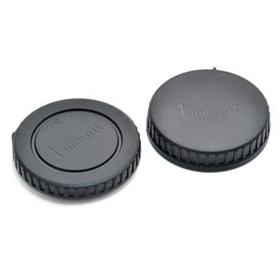 Комплект JJC L-R13 для Nikon 1: крышка для корпуса фотоаппарата + задняя крышка объектива