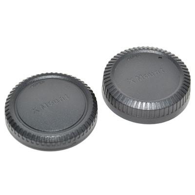 Комплект JJC L-R14 для Fujifilm X: крышка для корпуса фотоаппарата + задняя крышка объектива