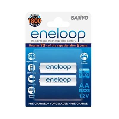 Аккумулятор SANYO Eneloop HR-3UTGB-2BP 1900 mAh, 2 шт, блистер, AA