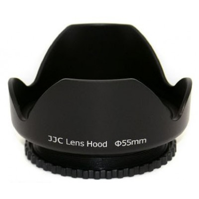 Бленда JJC LS-55 пластиковая для объектива 55mm
