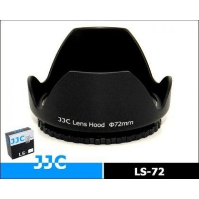 Бленда JJC LS-72 пластиковая для объектива 72mm
