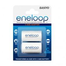 Адаптер SANYO Eneloop AD-C-2BP тип C, 2 шт