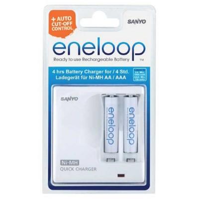 Зарядное устройство SANYO Eneloop MDR02-E-2-4UTGB + 2 аккумулятора AAA 750mAh