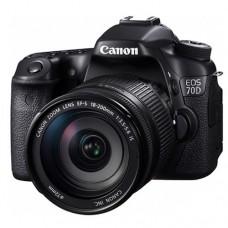 Зеркальный фотоаппарат Canon EOS 70D Kit 18-200 IS