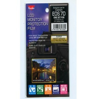 Защитная пленка Kenko для Canon EOS 7D (2шт для гл. и вспом.дисплеев)
