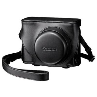 Кожаный чехол для Canon Powershot G1X/ SC-DC75 Коричневый