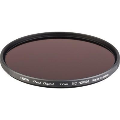 Нейтрально-серый фильтр HOYA ND64 PRO1D 62mm