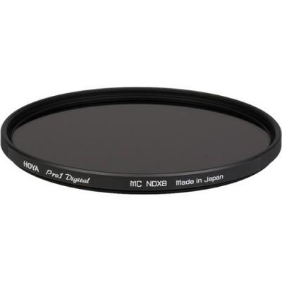 Нейтрально-серый фильтр HOYA ND8 PRO1D 62mm