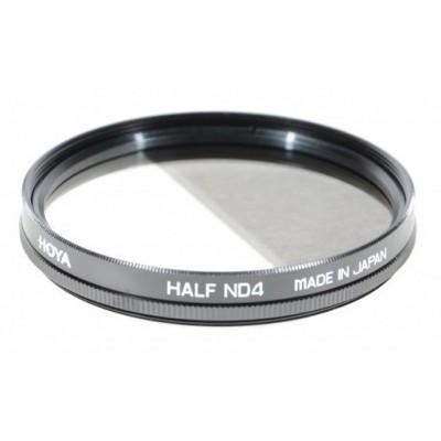 Градиентный нейтрально-серый фильтр HOYA ND4 HALF 55mm
