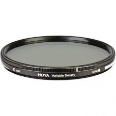Нейтрально-серый фильтр переменной плотности  HOYA Variable Density 62mm