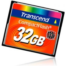 Карта памяти Transcend Compact Flash 32GB 133x TS32GCF133