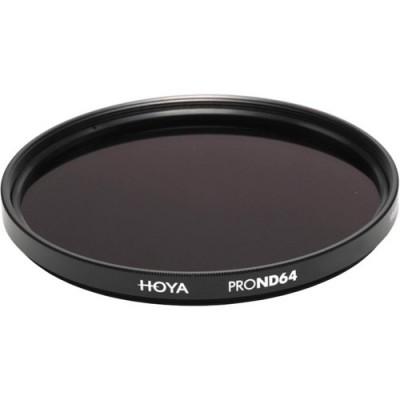 Нейтрально-серый фильтр HOYA PRO ND64 49mm
