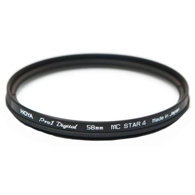 Звездный фильтр HOYA STAR-4 Cross Screen PRO1D 58mm