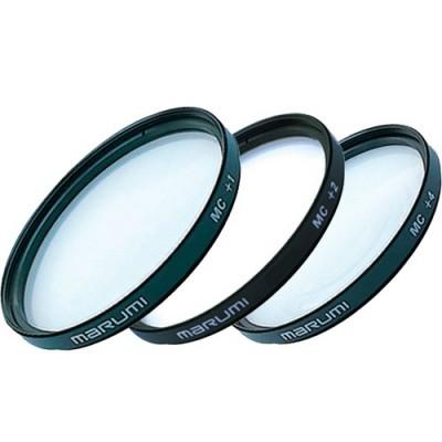 Набор макролинз Marumi MC-C Set (+1,2,4) 25mm